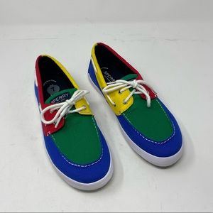 New Sperry Top Siders Multiocolor men's shoes